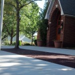Flexi-Pave and concrete sidewalk install