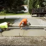 Concrete driveway in Pulaski, NY