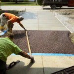 Screeding Flexi-Pave