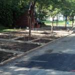 Sidewalk forming